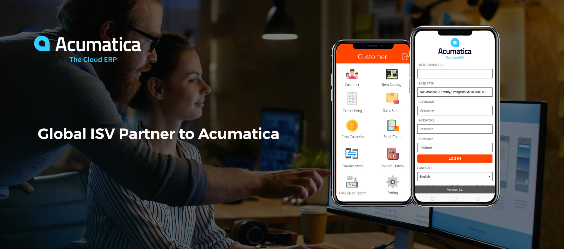 Global ISV Partner to Acumatica